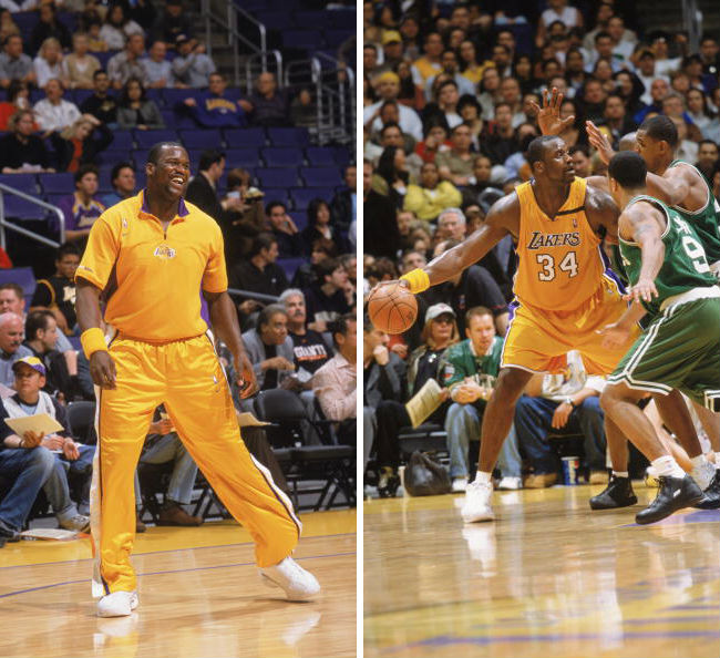 Shaq's 10 Best Games as a Laker // March 21, 2003 vs. Boston Celtics - Dunkman Shaq