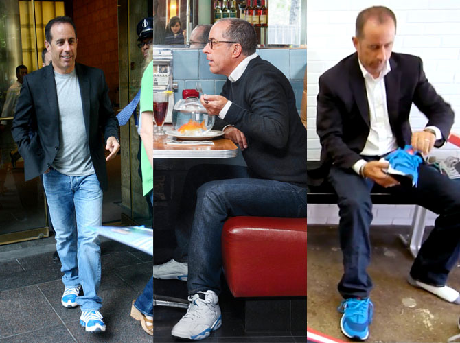 Celebrity Sneakerhead: Jerry Seinfeld