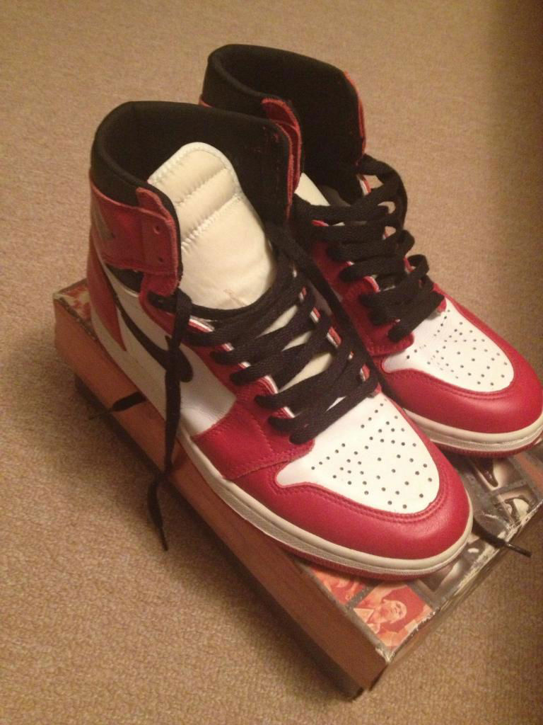Spotlight // Pickups of the Week 12.1.12 - Air Jordan Retro 1 '94 by rackcity415