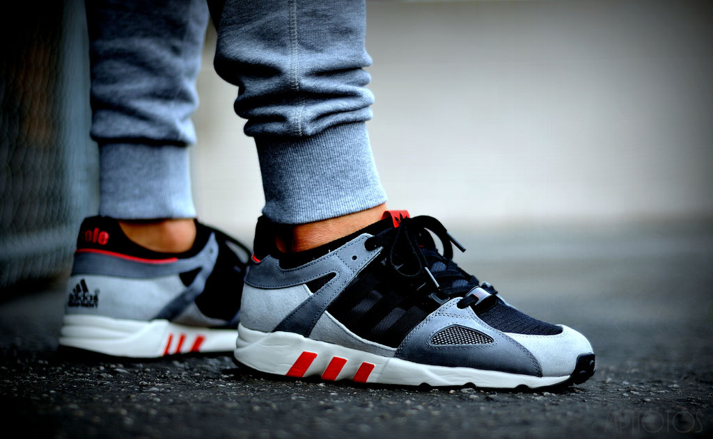 moy wearing the Solebox x adidas EQT Running Guidance 93