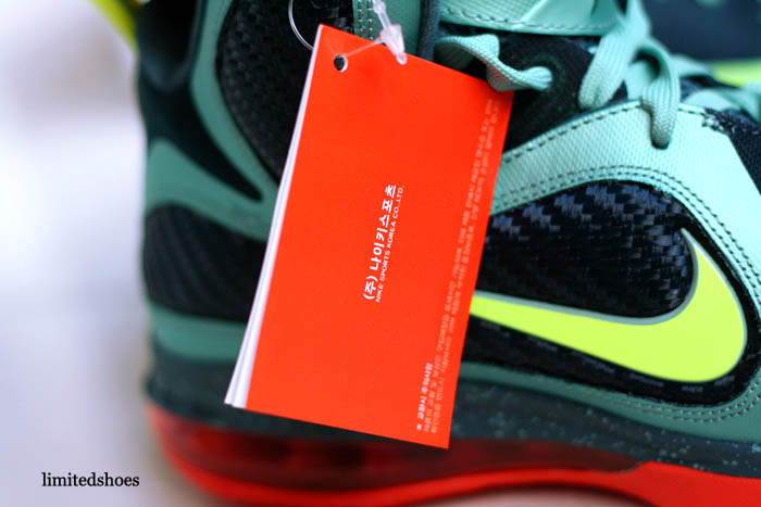 lowest price 80c2b c146a Nike LeBron 9 Cannon Volt Slate Blue Team Orange 469764-004 11