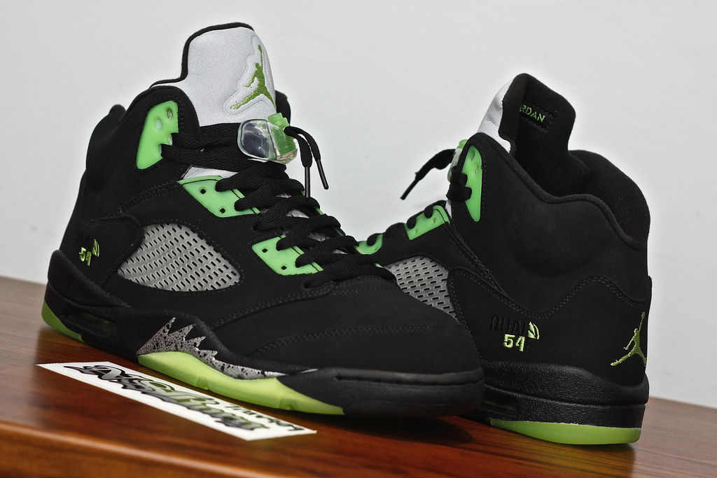 Spotlight // Pickups of the Week 12.8.12 - Air Jordan Retro V 5 Quai54 Black by Trav409