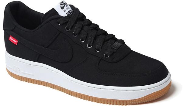Nike Air Force 1 Low Supreme Black/Black