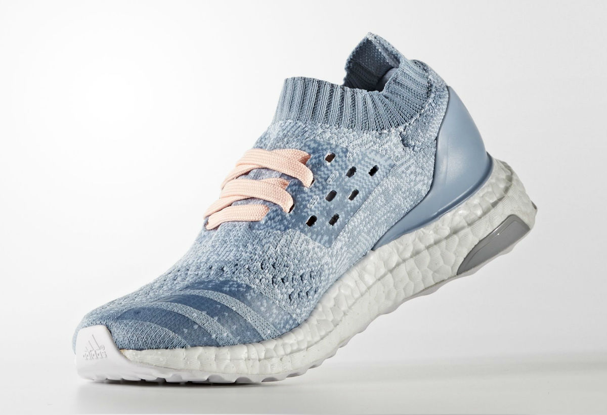 Adidas Ultra Boost Uncaged Womens Light Blue Medial BB3049