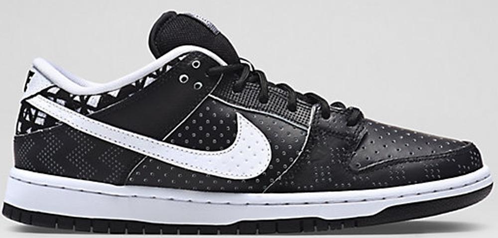 Nike Dunk Low Premium SB BHM Black/White-Black