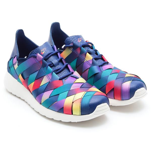 Nike Wmns Roshe Exécuter Multicolore Tissé