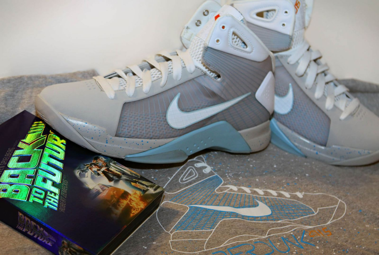 "Photo of the Day: Back to the Future ""McFly"" Hyperdunk"
