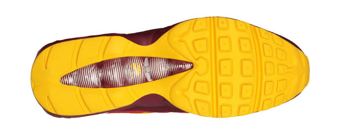 100% authentic 8f420 2058a Nike Air Max 95 No-Sew Washington Redskins (3)