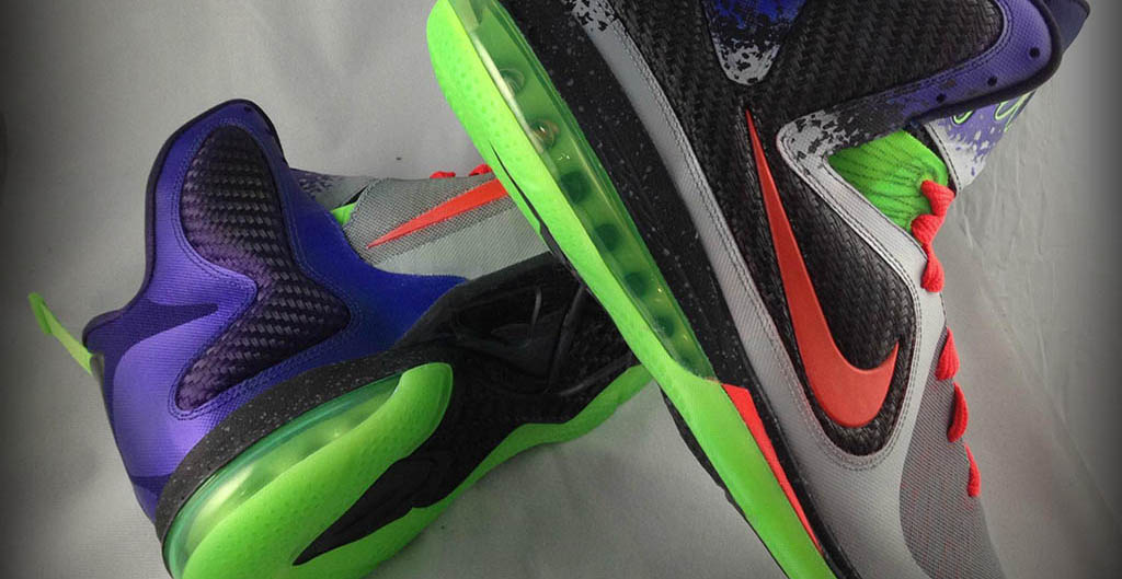 huge discount 59570 7ab7d Nike LeBron 9 Un NERF by Mache Custom Kicks (8)