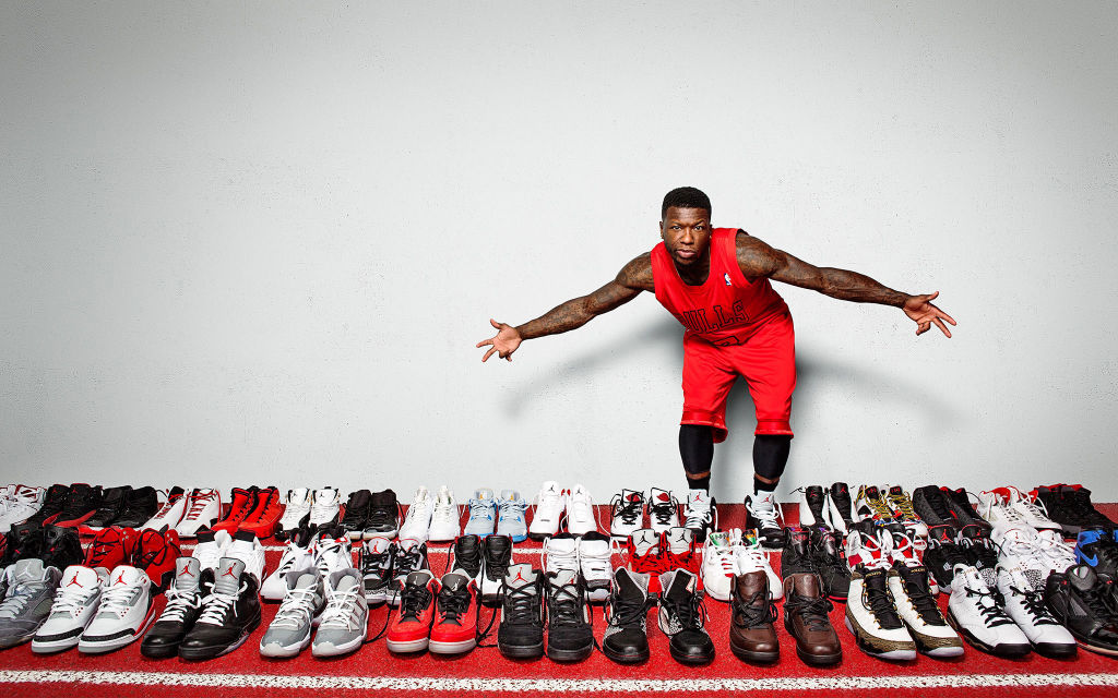 ESPN Photographs Nate Robinson's Air Jordan Collection (1)