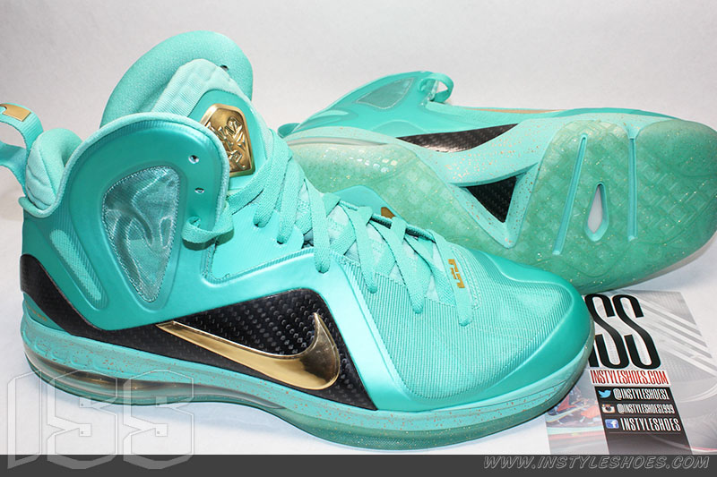 Nike LeBron 9 PS Elite 'Statue of Liberty' MVP Sample (1)