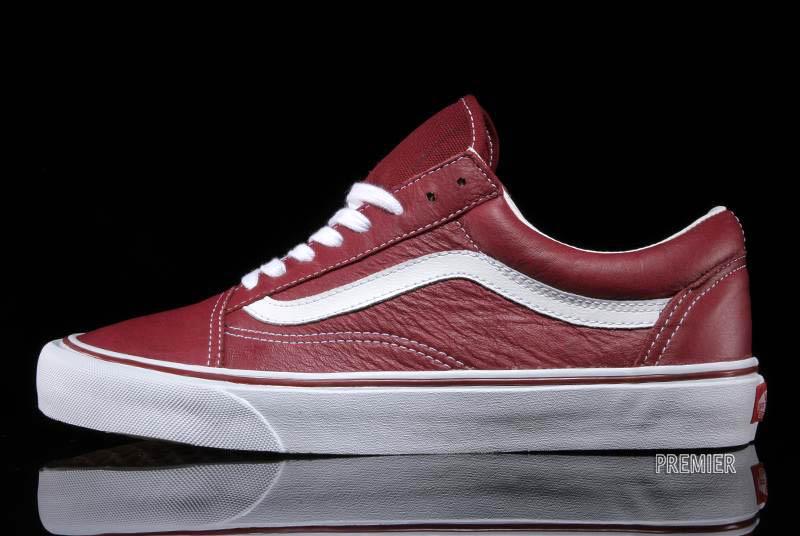 6c540ab872 Vans Old Skool Leather - Tibetan Red