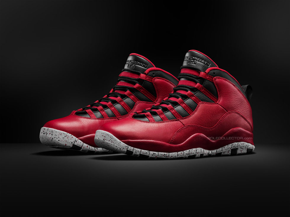 Air Jordan X 10 Red Cement 2015 Retro (2)