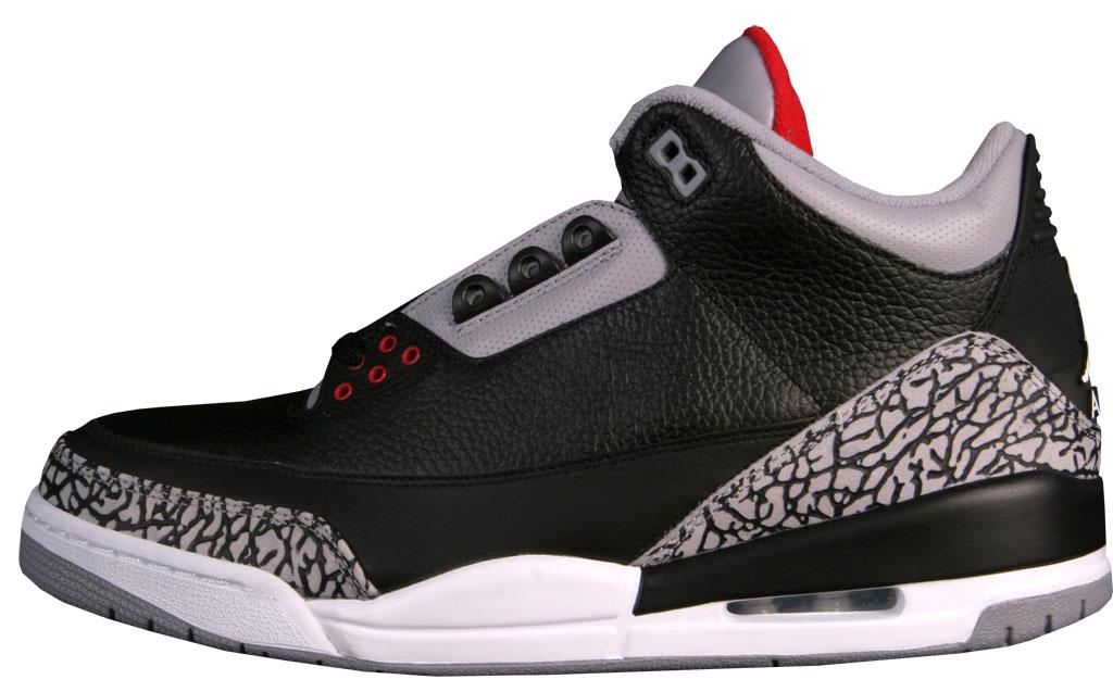 1233996690d Shoe: Air Jordan 3 Retro 'CDP' Black/Cement (2008) Average Deadstock  Selling Price on eBay: $347