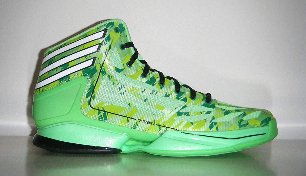 adidas adiZero Crazy Light 2 Neon Green Camo (1)