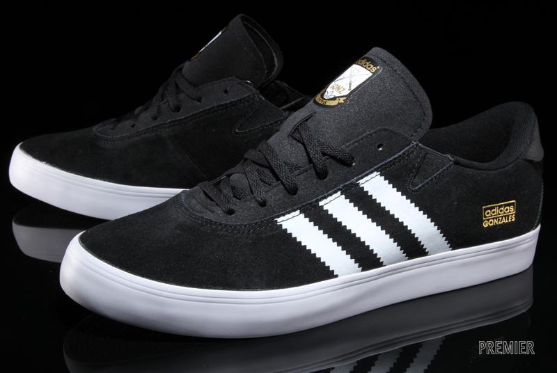 adidas Skateboarding Gonz Pro - Black/White
