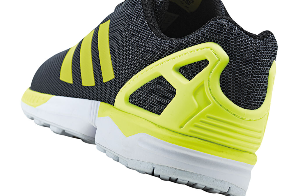 100% authentic d0f3d ee17d adidas ZX Flux Base Pack Grey Yellow (3)
