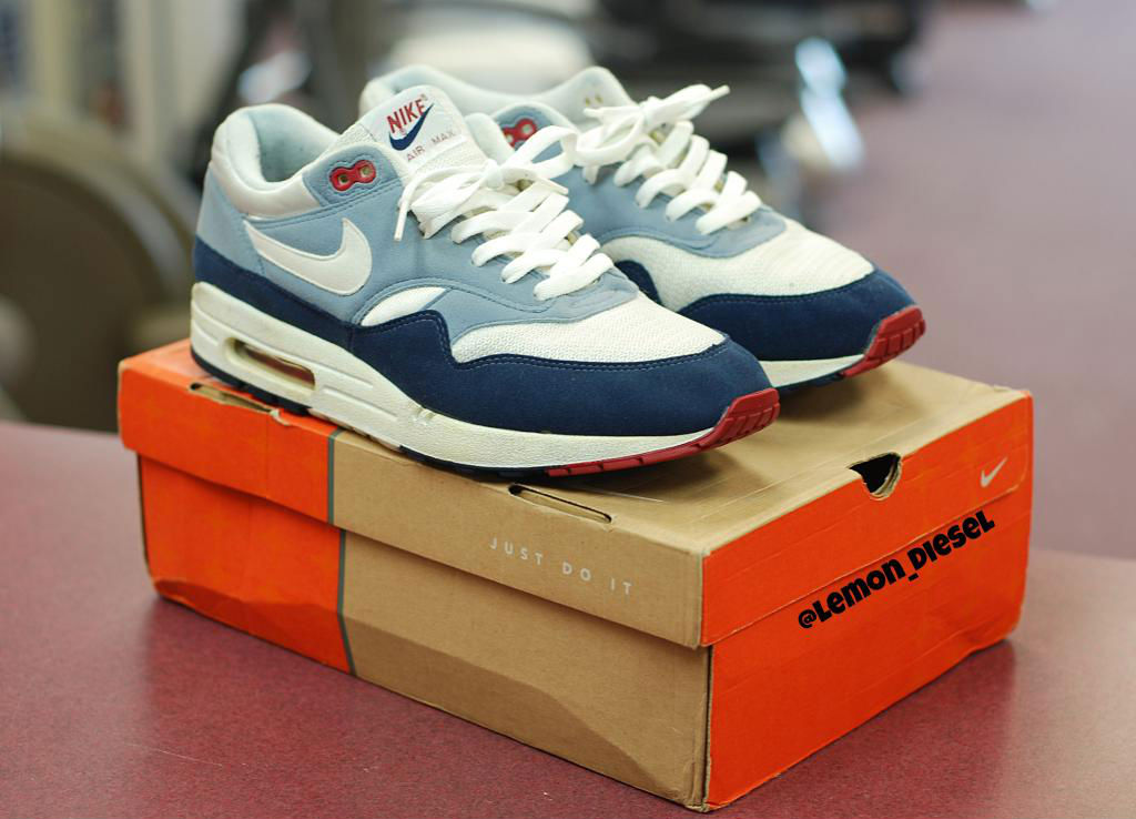 Spotlight // Pickups of the Week 5.26.13 - Nike Air Max 1 Greystone by lemon_diesel