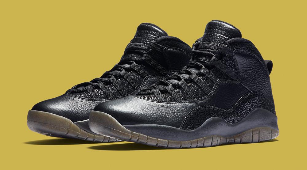 Jordan 10 Ovo Black