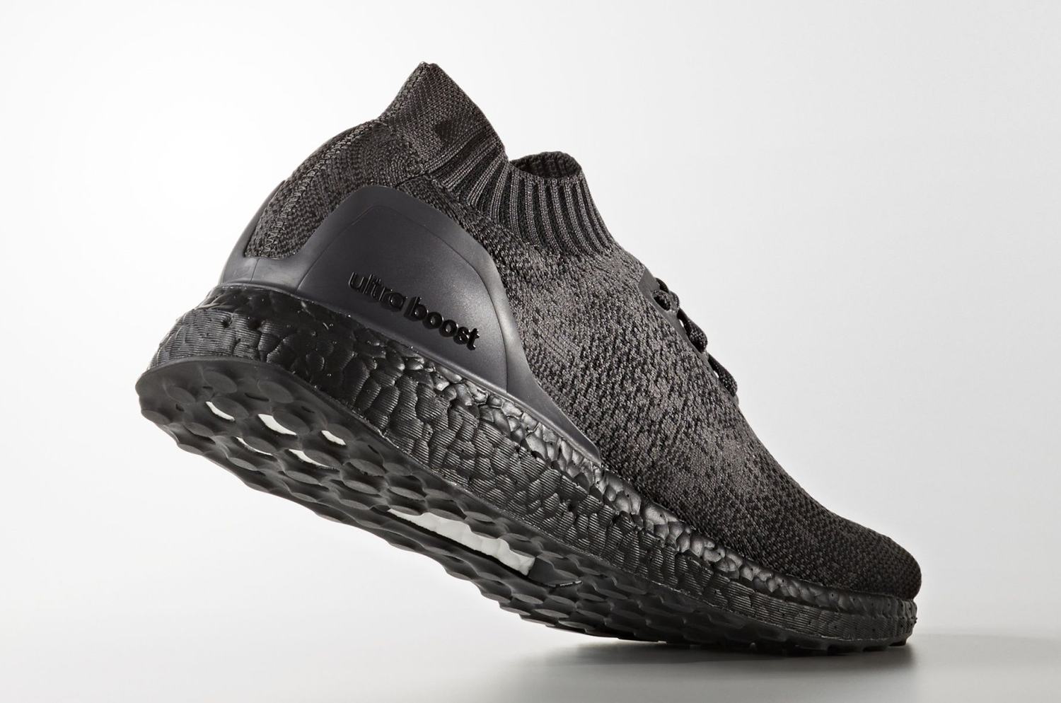 93b9288f9cbd0 Triple Black Adidas Ultra Boost Uncaged Heel