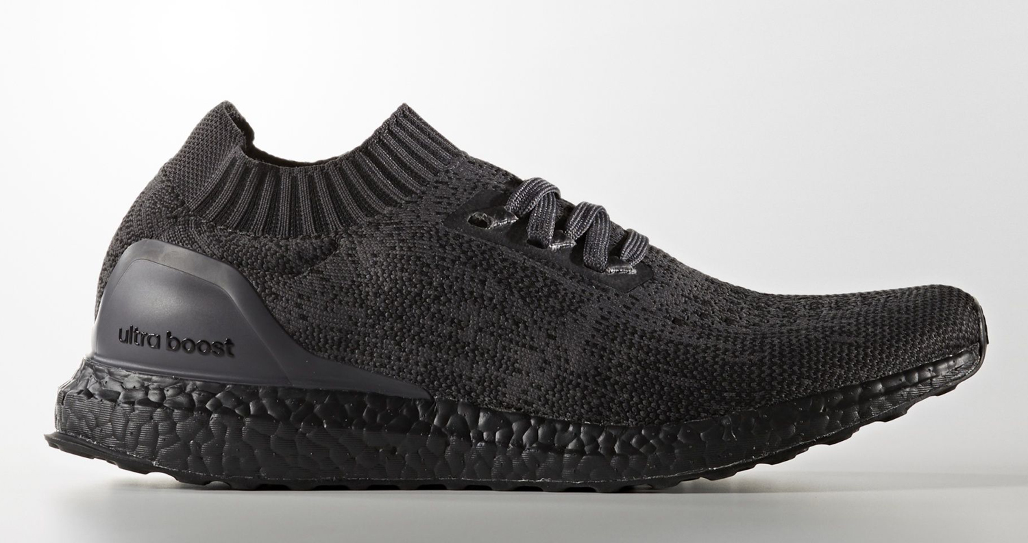 triple black adidas ultra boost uncaged sole collector. Black Bedroom Furniture Sets. Home Design Ideas