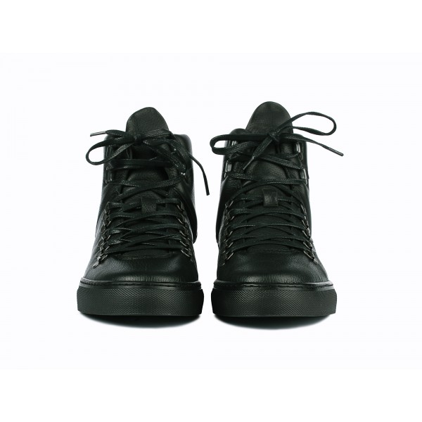 Filling Pieces Mountain Boot in black leather front