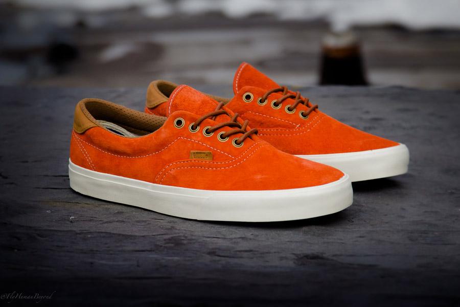 Vans Orange Sole