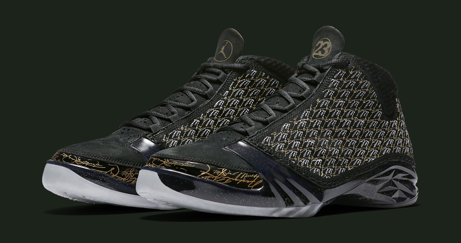 Black Trophy Room Air Jordan 23 Sole Collector