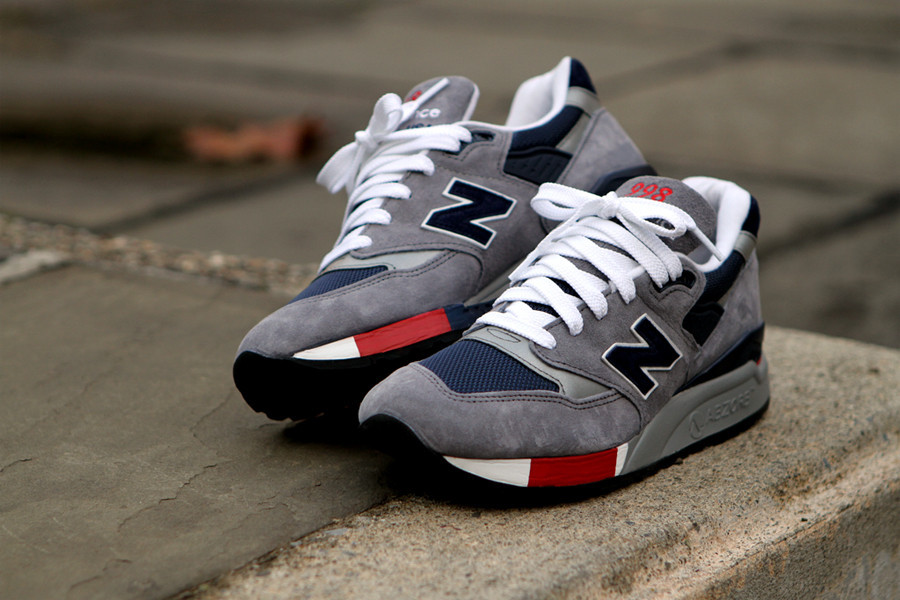 new balance 998 navy red grey