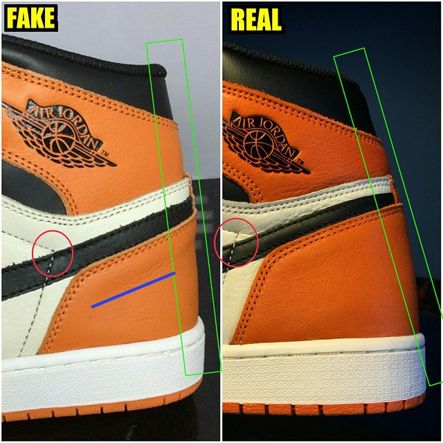3836097ad8f How To Tell If Your 'Shattered Backboard' Air Jordan 1s Are Real or ...
