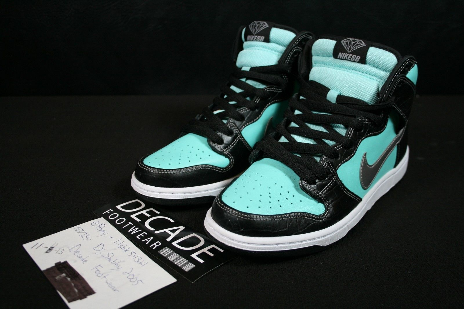 4324d25a2910 ... new arrivals diamond supply co. x nike sb dunk high diamond new images  sole collector