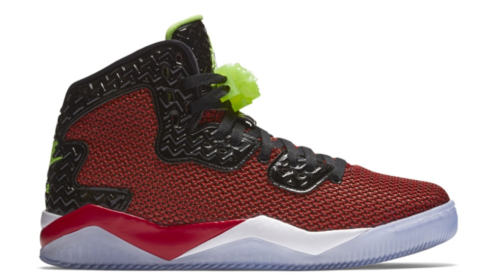 Air Jordan Spike Forty PE University Red/Ghost Green-Black-White