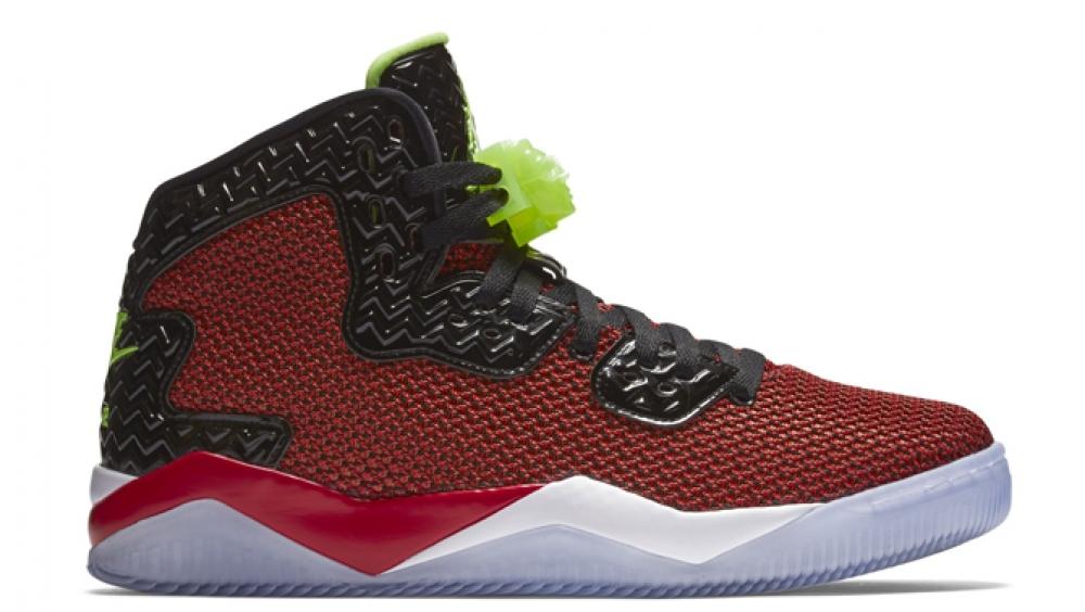 Air Jordan Spike Forty PE University Red/Ghost Green-Black-White