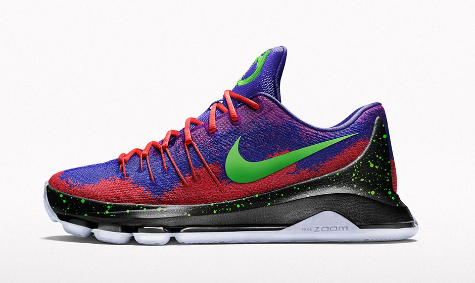 best website 4cd72 8ac37 Nike ID KD 8 Spray Paint Option (1)