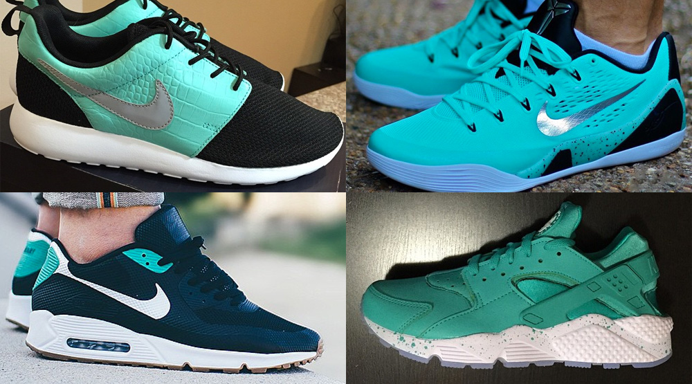 various colors bf677 f0145 The 50 Best  Tiffany  NIKEiD Designs On Instagram