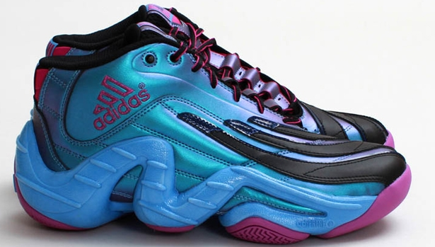 adidas Real Deal Iridescent Black/Vivid Pink-Joy Blue