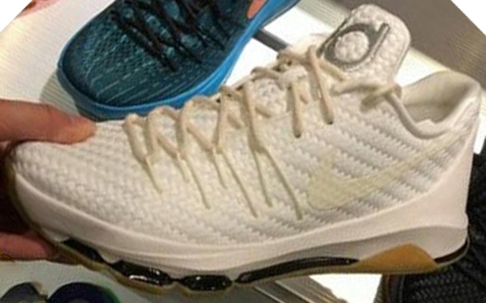 Nike KD 8 EXT Woven White