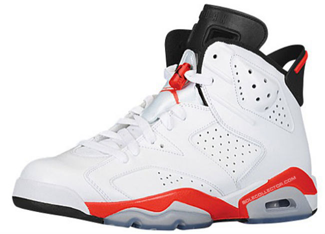 big sale a7415 2f5ec Air Jordan 6 Retro - White Infrared    Release Date