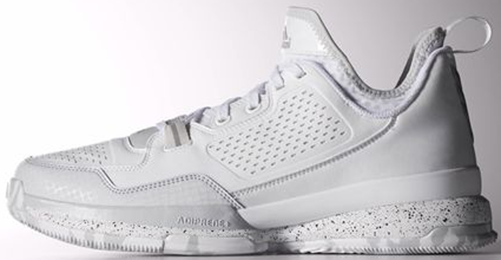 adidas D Lillard 1 White/Light Onix-White