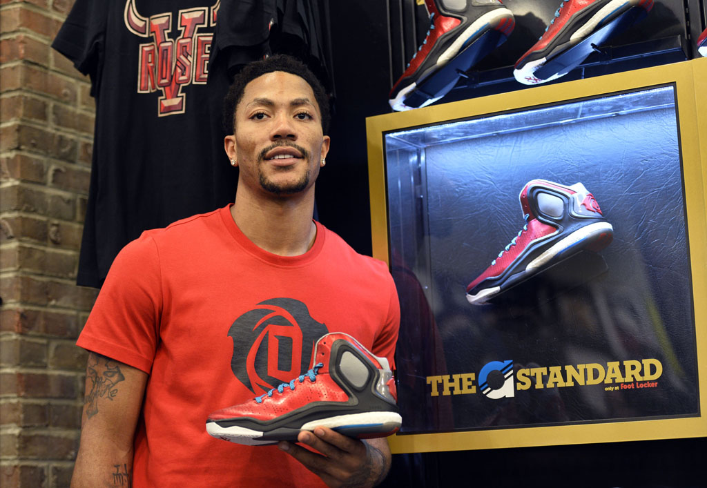 Derrick Rose and adidas Basketball Launch the D Rose 5 Boost in Chicago (13)