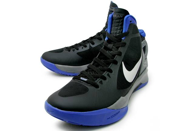 brand new 50ec9 f9061 Nike Zoom Hyperdunk 2011 Black Metallic Silver Treasure Blue Cool Grey  454138-002