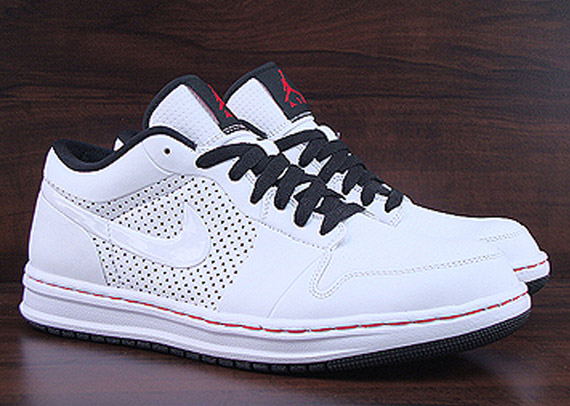 62c9f905290 Air Jordan Alpha 1 Low - White/Black-Varsity Red | Sole Collector