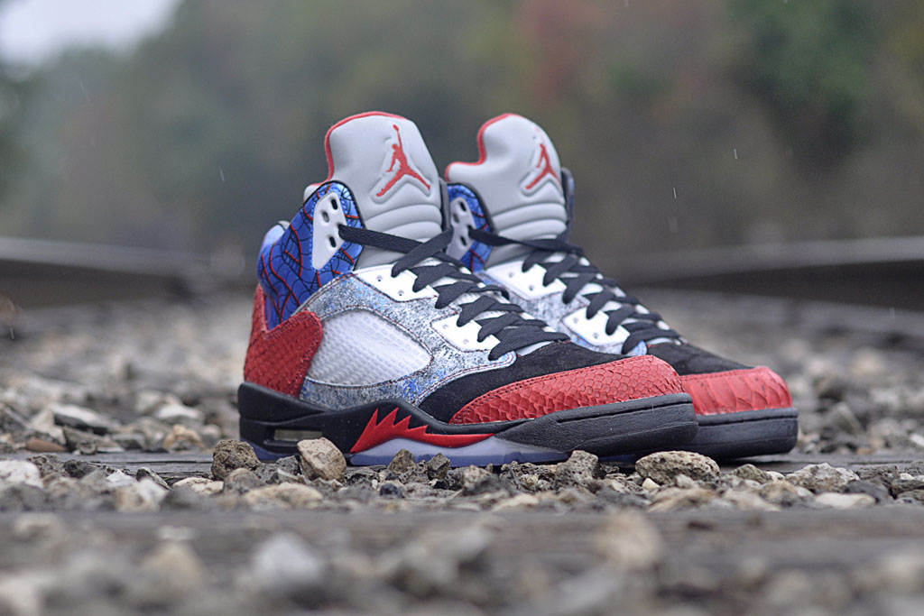 JBF Customs x Sekure D - Air Jordan 5 Cobra Commander (2)