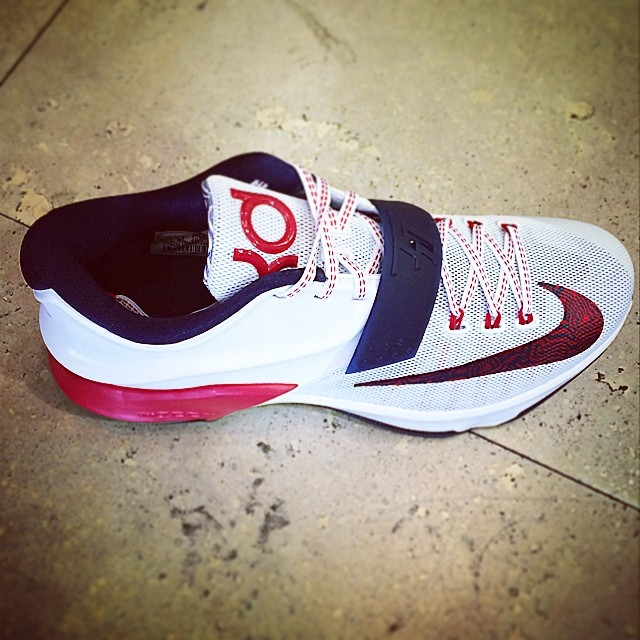 DJ Skee Picks Up Nike KD VII 7 July 4th