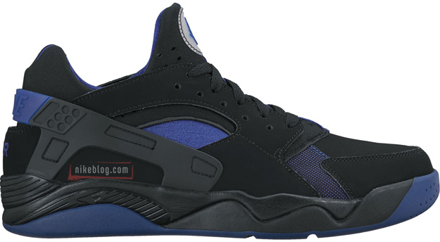 Nike Air Flight Huarache Low Black/Blue