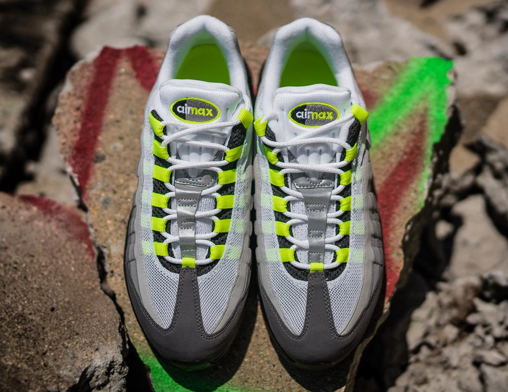 air max 95 womens lime green