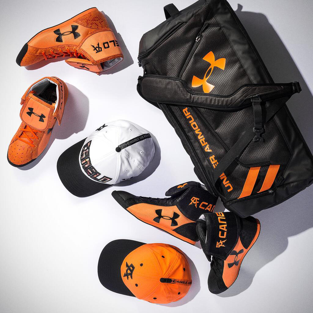 Canelo Alvarez's Under Armour Fight Boots & Gear for Erislandy Lara
