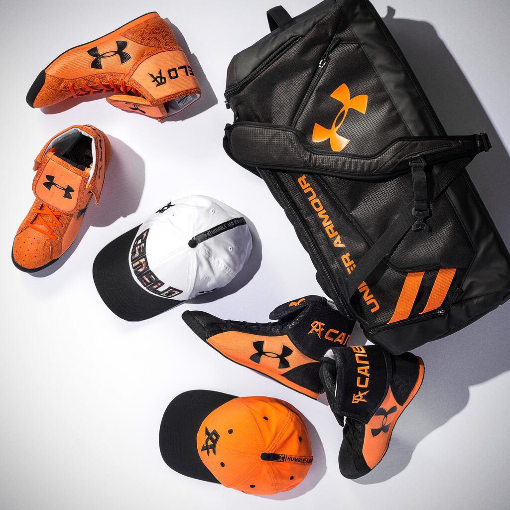 Canelo Alvarez s Under Armour Fight Boots   Gear for Erislandy Lara ec1aa3dd01e