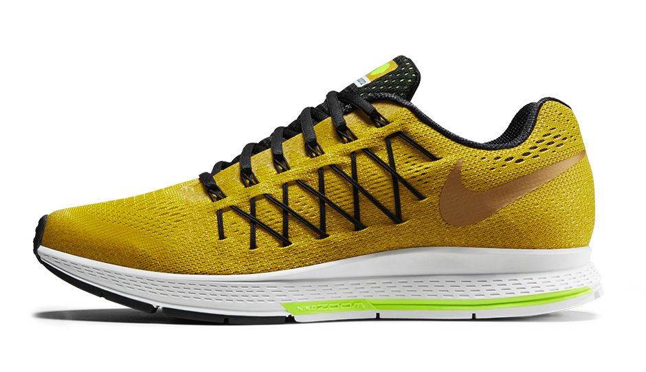 mens nike zoom pegasus 32 black yellow