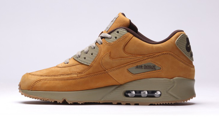 nike air max 90s go 39 wheat 39 for winter sole collector. Black Bedroom Furniture Sets. Home Design Ideas